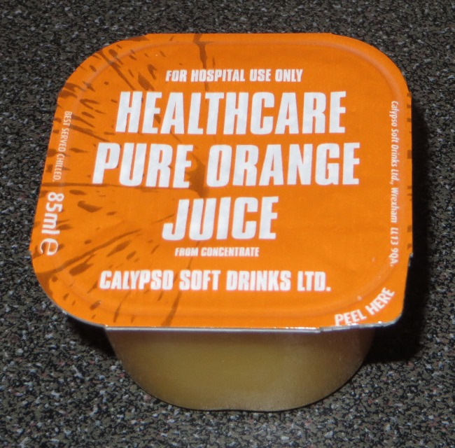 Healthcare orange juice