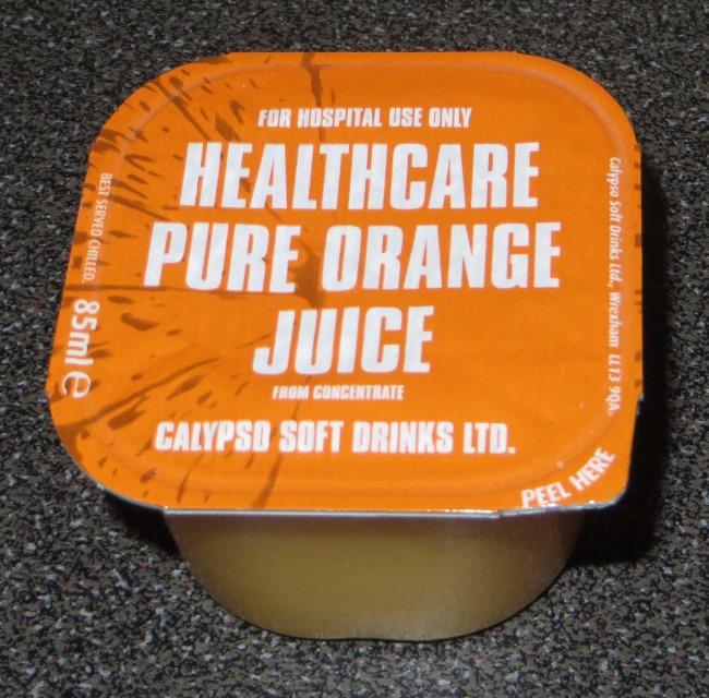 Healthcare orange juice