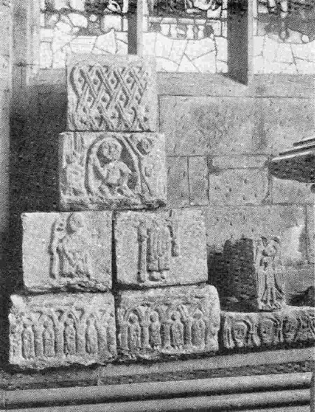 The Old Carved Stones at Acton Church