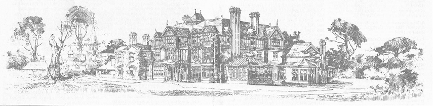 Drawing of Alvaston Hall in 1897