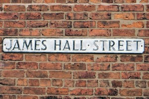 James Hall Street sign