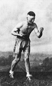 Jackie Potts boxer and Landlord of The Leopard