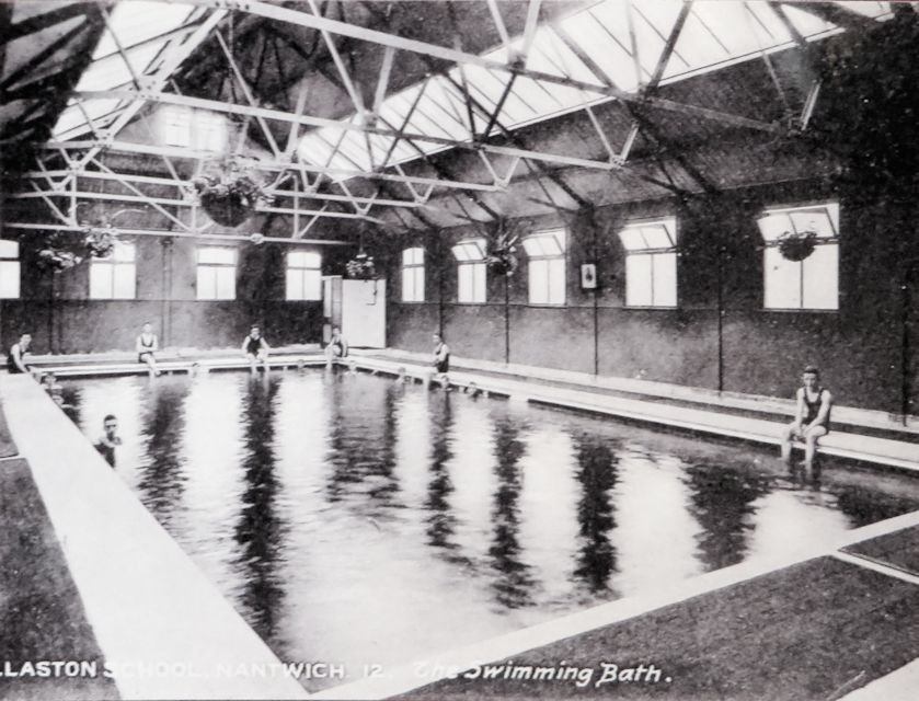 Philip Hirsch Swimming Baths at Willaston School, Nantwich