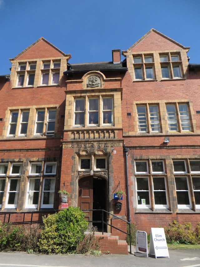 Entrance to Willaston School