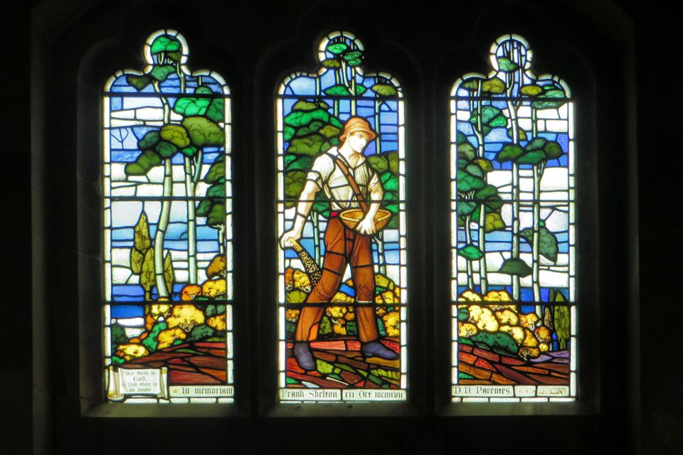 Frank Skelton window
