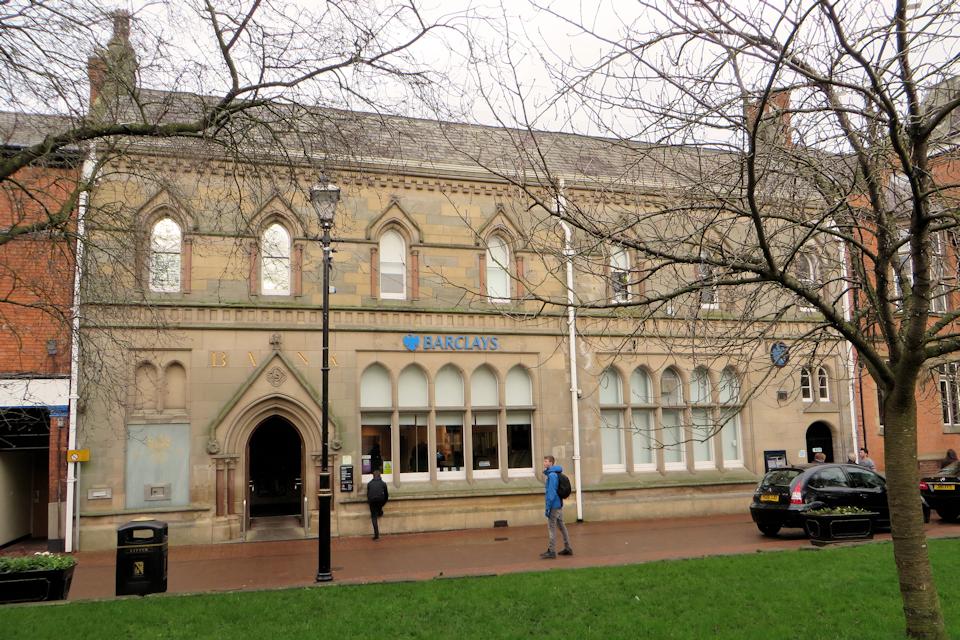 Midland Bank, built by Thomas Bower at 11 Churchyardside Nantwich