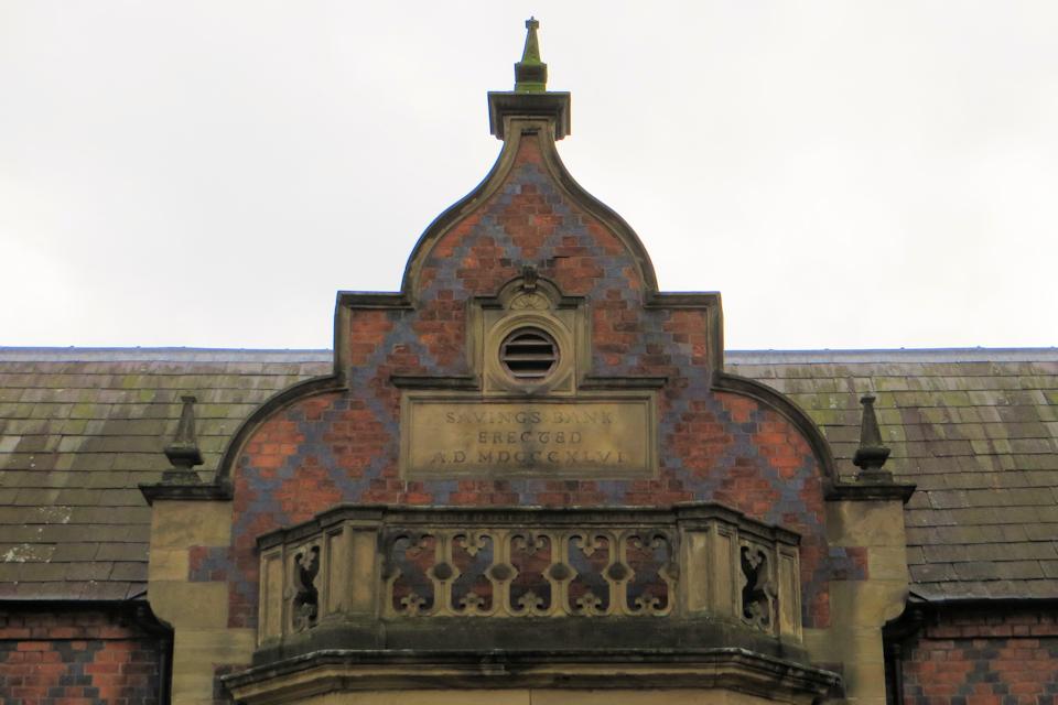Nantwich Saving's Bank built in 1846