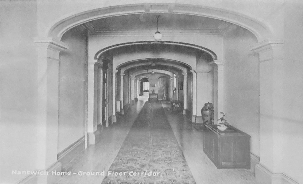 Nantwich Home ground floor corridor