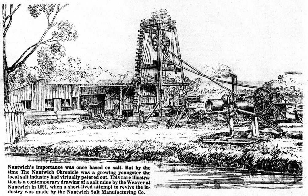 Article about the Nantwich Salt Manufacturing Co 1891