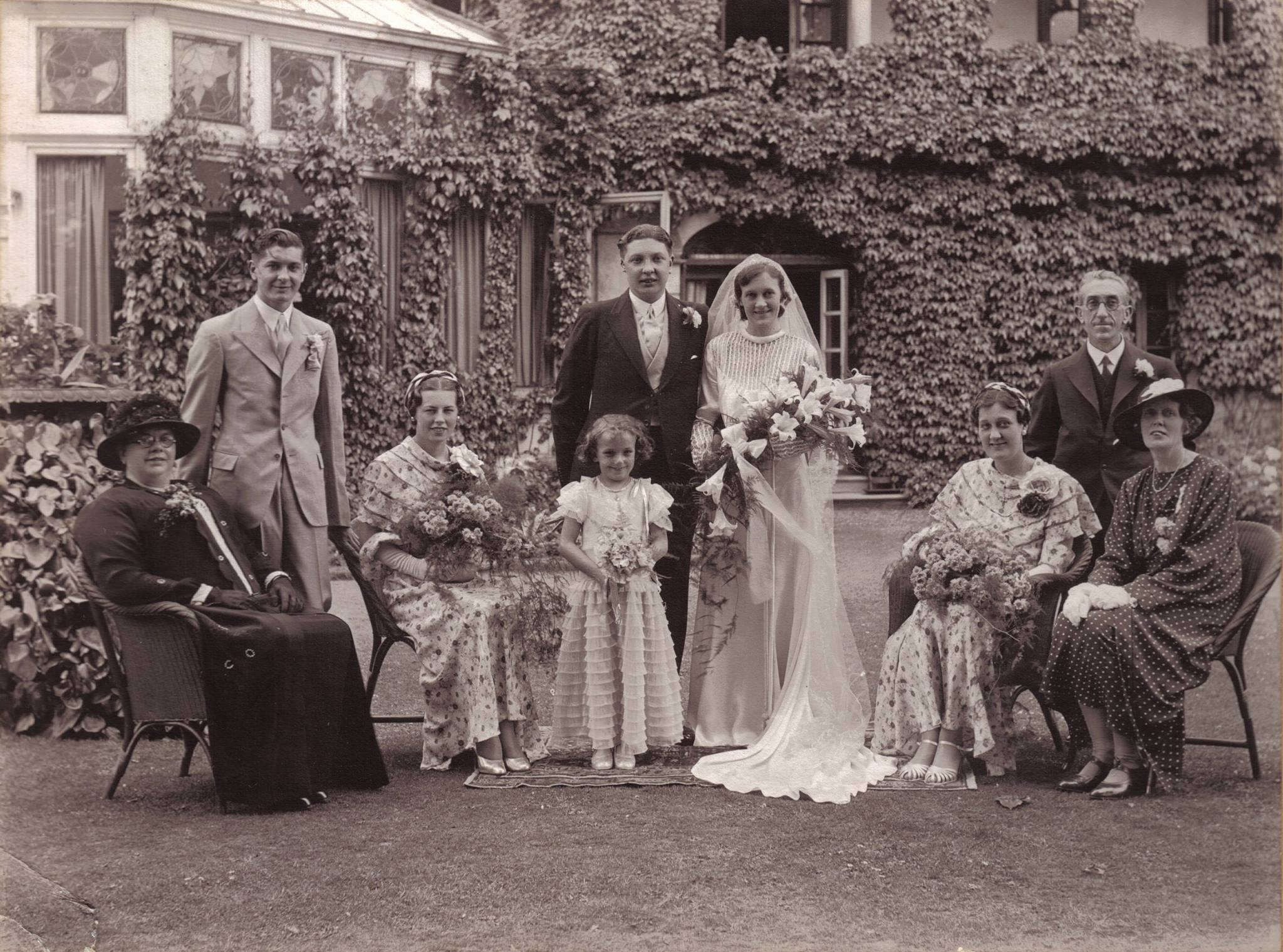 1920s wedding of Florence Knowles to Albert Peake