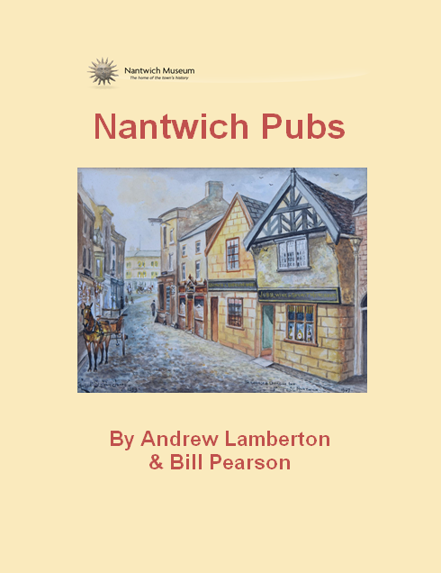 Nantwich Pubs Book Cover new