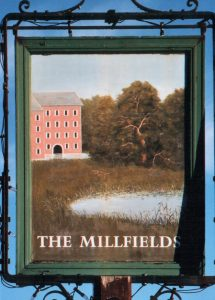 The Millfields pub sign